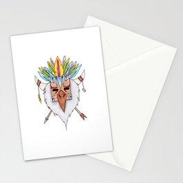 Tiki Bird Stationery Cards