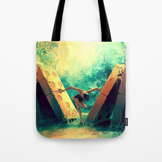 TAURUS from the Dancing Zodiac Tote Bag