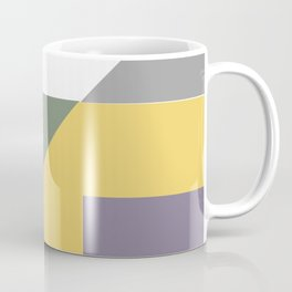 Geometric Trendy Abstract Modern Art Design Coffee Mug