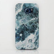 Blue Sea Marble Slim Case Galaxy S7