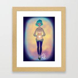 Fuente de luz Framed Art Print