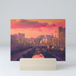 Seongbuk Sunsets Mini Art Print