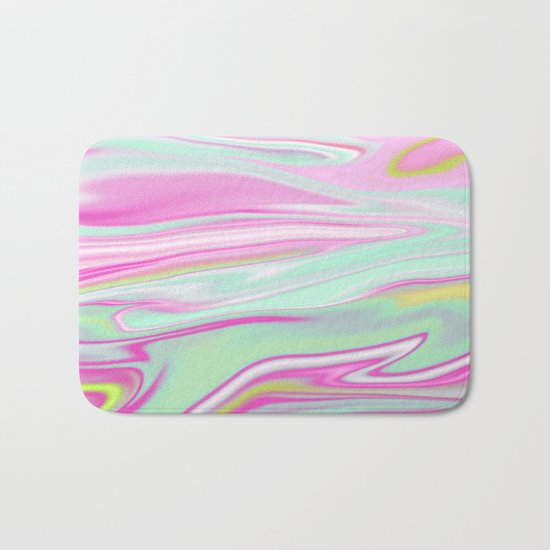 Iridescent Marble 11 Bath Mat