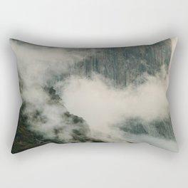 Yosemite fog Rectangular Pillow