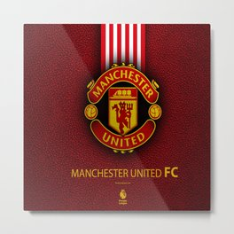 Manchester United Football Club , The Red Devils : My Favorite Sport Team Metal Print