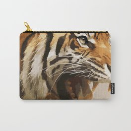 Magnificent Tiger Carry-All Pouch