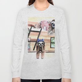 Peek into a treehouse Long Sleeve T-shirt