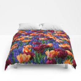 Flowerbed Medley Comforters