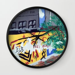 Checkpoint Charlie Wall Clock