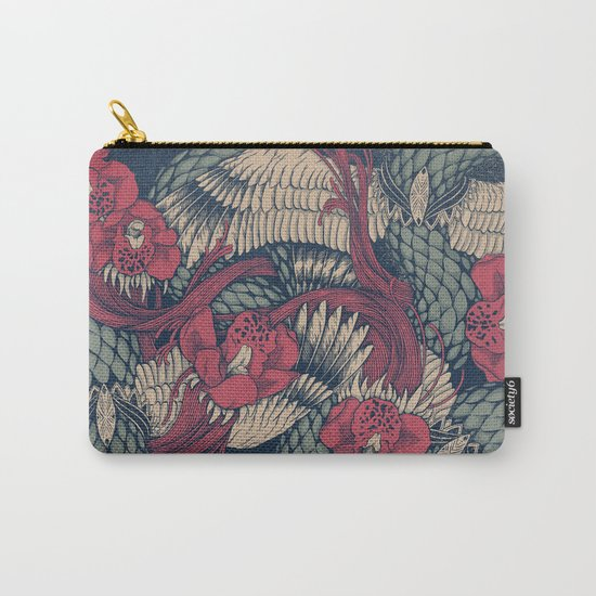 Shedding Skin Carry-All Pouch