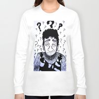 clueless Long Sleeve T-shirts featuring Clueless? by Drab