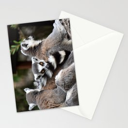 Ring-tailed lemur Stationery Cards