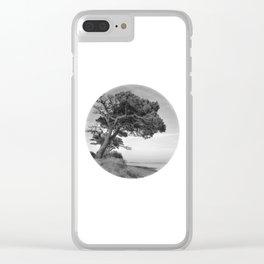 Desert Island Disc Clear iPhone Case