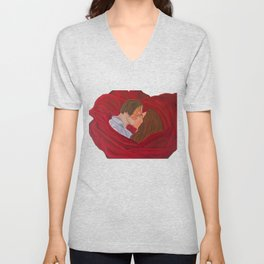 Phantom & Christine Kiss Unisex V-Neck