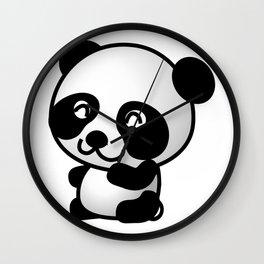 Panda Baby Cute Wall Clock