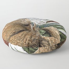 The Earth Golem Floor Pillow