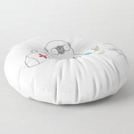 Doctor Pug Floor Pillow