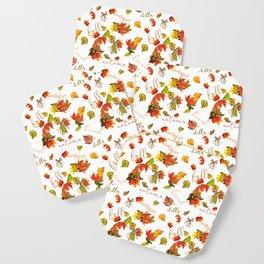 Autumn Leaves Hello Fall! Coaster
