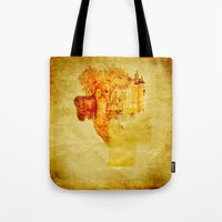 once upon a  time Tote Bags featuring Once upon a time ... by Joe Ganech