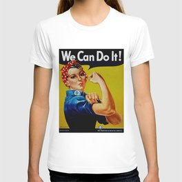 We Can Do It - WWII Poster T-shirt