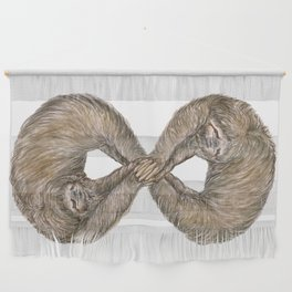 Infinity of Sloth Wall Hanging