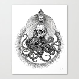From The Depths Canvas Print