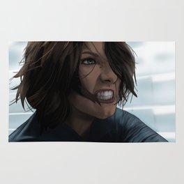 Angry Alex Denver (Supergirl) Rug