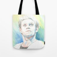 niall Tote Bags featuring Niall by Rach