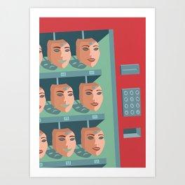 /BUY HAPPINESS/ Art Print