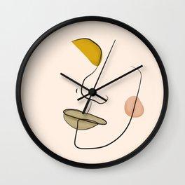 Le portrait d'Henriette Wall Clock