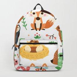 Woodland Animal Backpack