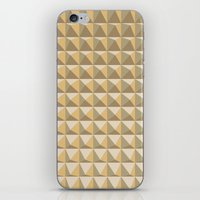 pyramid iPhone & iPod Skins featuring pyramid by Ioana Luscov