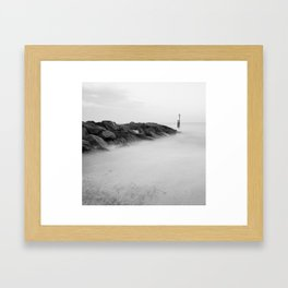 Southwold Beach Framed Art Print
