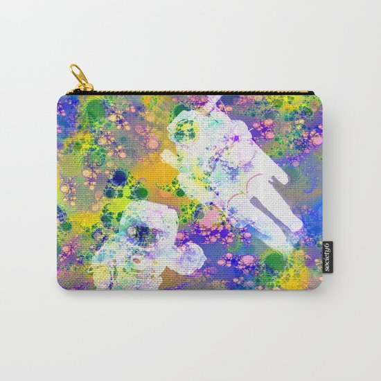 Psychedelic Space Carry-All Pouch