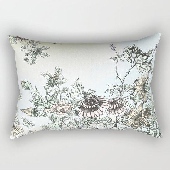 The dance of Spring Rectangular Pillow