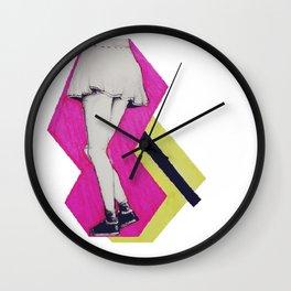 Pop Art Skirt Wall Clock