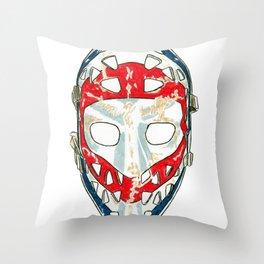 Dryden - Mask 2 Throw Pillow