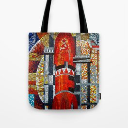 Spaceships Will Cross The Sky Tote Bag