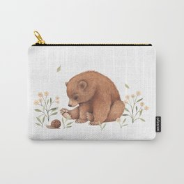 Spring Bear Carry-All Pouch