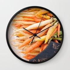carrots Wall Clock