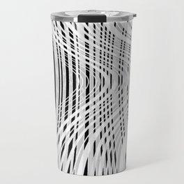 curvy barcode Travel Mug