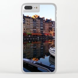 Honfleur Clear iPhone Case