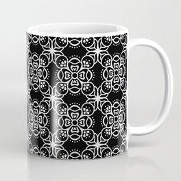 black boho pattern 2 Coffee Mug