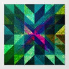 X Marks the Spot Canvas Print