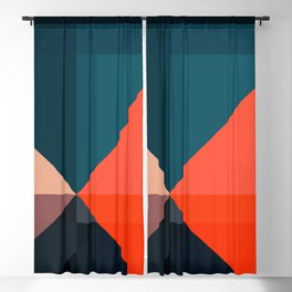 Geometric 1713 Blackout Curtain