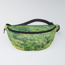 The Rainforest Contains a Million Shades of Green Fanny Pack