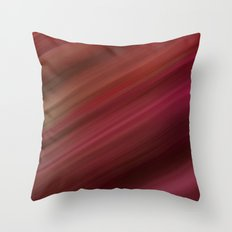 Fresh Rhubarb Throw Pillow