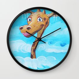 Up to the skies Wall Clock
