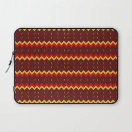Lightning Arrows (Yellow/Red) pattern Laptop Sleeve