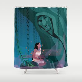 Pocahontas Spirit Shower Curtain